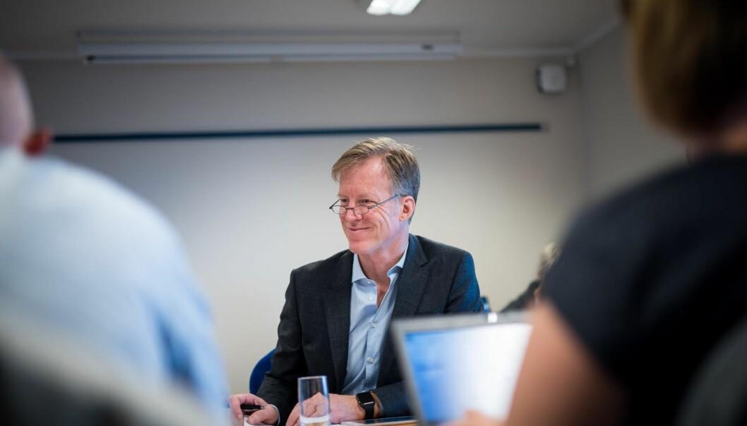 Rektor Curt Rice ved Høgskolen i Oslo og Akershus er fornøyd med å ha fått fullmakt til å sende søknad om å bli universitet. I løpet av et par uker er søknaden klar til å sendes NOKUT.