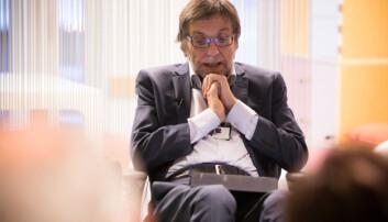 Journalisten vs. kommunikasjonsrådgiveren var temaet på Jan Eriksens avskjedsseminar ved daværende Høgskolen i Oslo og Akershus (HiOA) i 2015. Foto: Øyvind Aukrust