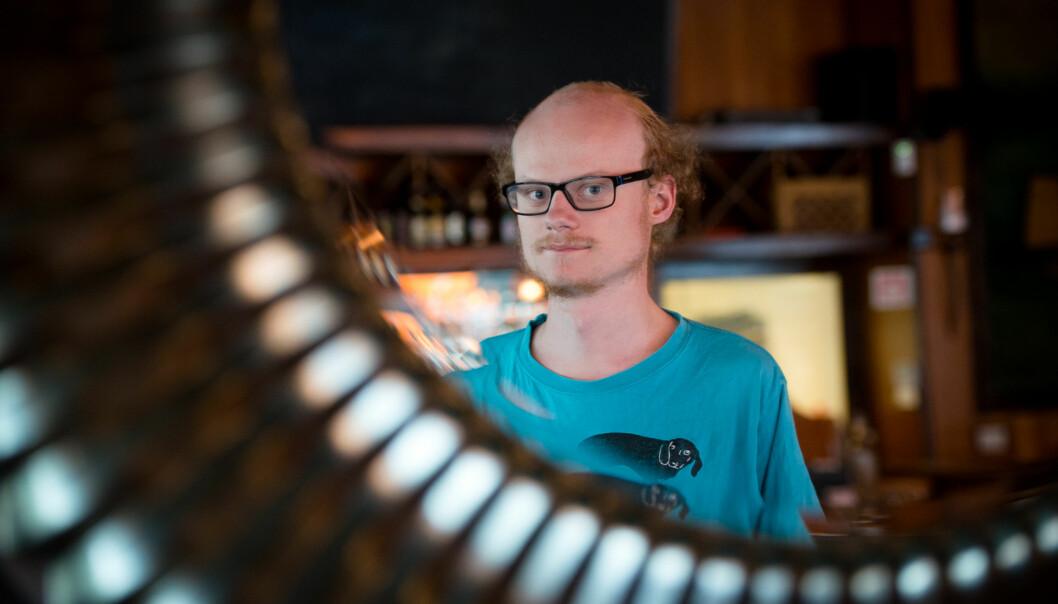 William Sæbø er tidligere medlem av Arbeidsutvalget i Studentparlamentet ved Høgskolen i Oslo og Akershus Foto: Skjalg Bøhmer Vold