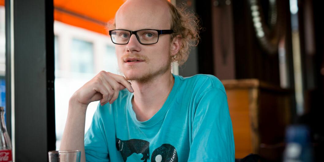 """William Sæbø måtte gå ut av arbeidsutvalget ved Studentparlamentet ved HiOA etter mistillit, nå vil han bli en del av arbeidsutvalget i <span class=""""caps"""">NSO</span> frasommeren. Foto: Skjalg Bøhmer Vold"""