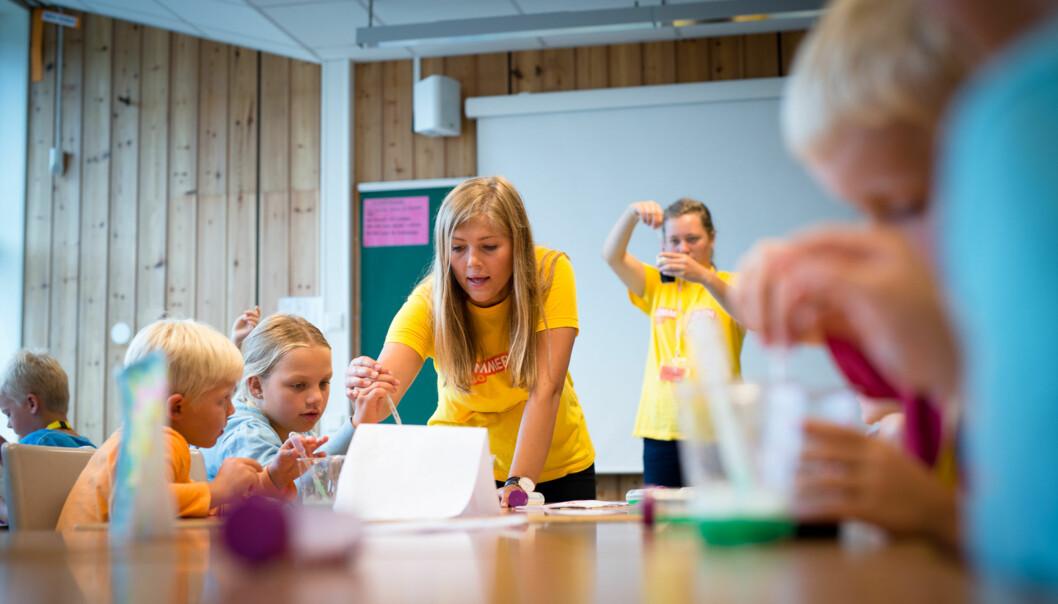 Flere lærere vurdere allerede etter mindre enn to år som lærer å finne seg et annet yrke eller skaffe seg en annenutdanning. Foto: Skjalg Bøhmer Vold