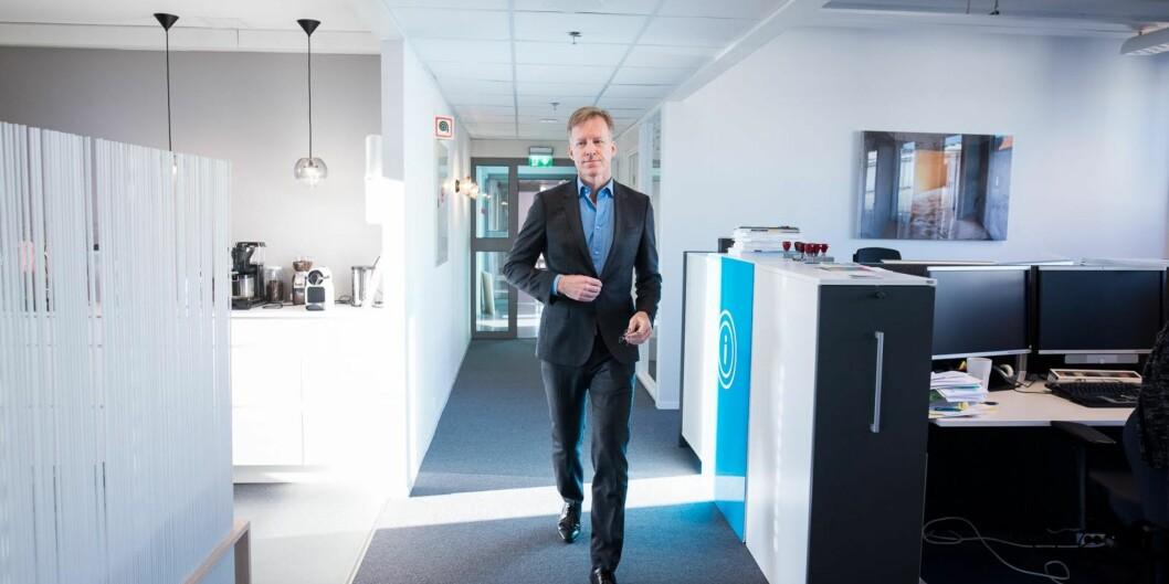 """Rektor Curt Rice ved Høgskolen i Oslo og Akershus tar i intervju med Universitetsavisa på <span class=""""caps"""">NTNU</span> selvkritikk og sier at han kunne involvert dekanene mer i enkelteprosesser."""