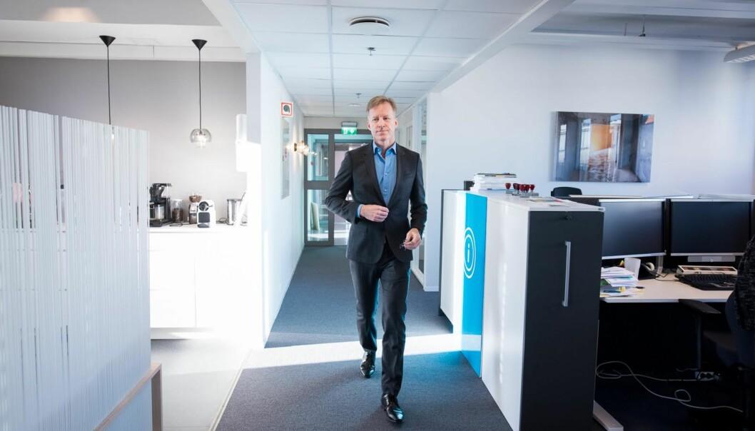 Rektor Curt Rice ved Høgskolen i Oslo og Akershus mener at over 40 søkere til en av de øverste direktørstillingene ved høgskolen viser at HiOA både er en attraktiv og synligarbeidsgiver.