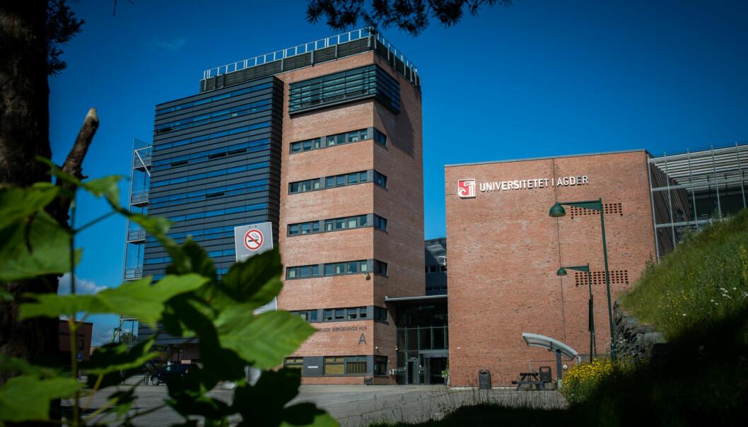 Campus Kristiansand, Universitetet i Agder. Foto: Skjalg Bøhme Vold