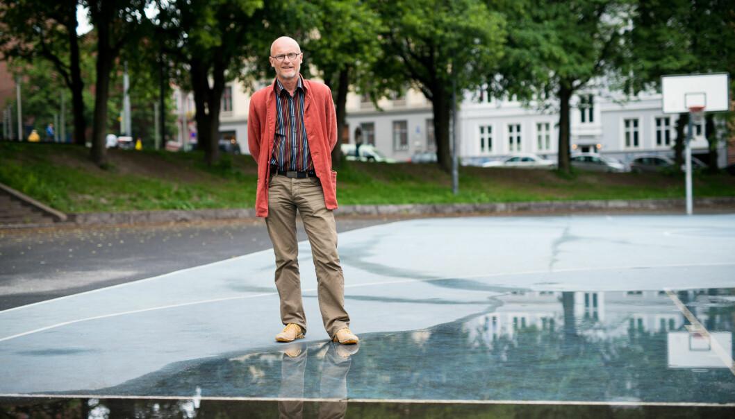 Lars Egeland er direktør for læringssenter og bibliotek på Høgskolen i Oslo og Akershus. Foto: Skjalg Bøhmer Vold