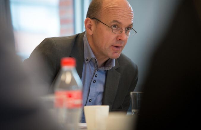 Kyrre Lekve, assisterende direktør i Simula. Foto: Skjalg Bøhmer Vold.