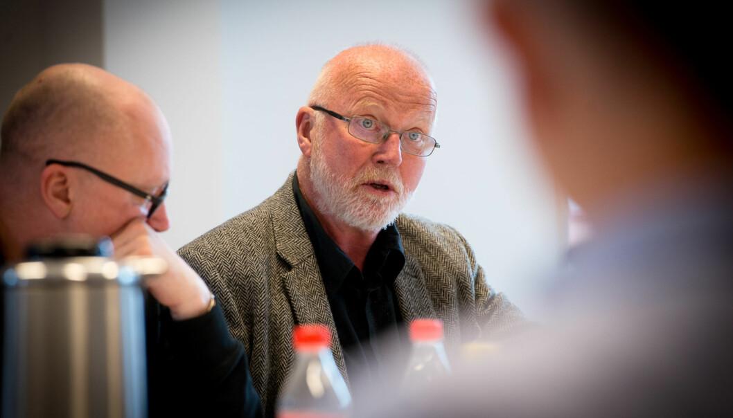 Ragnar Audunson etterlyser sterkere konsistens i argumentasjon og resonnement.