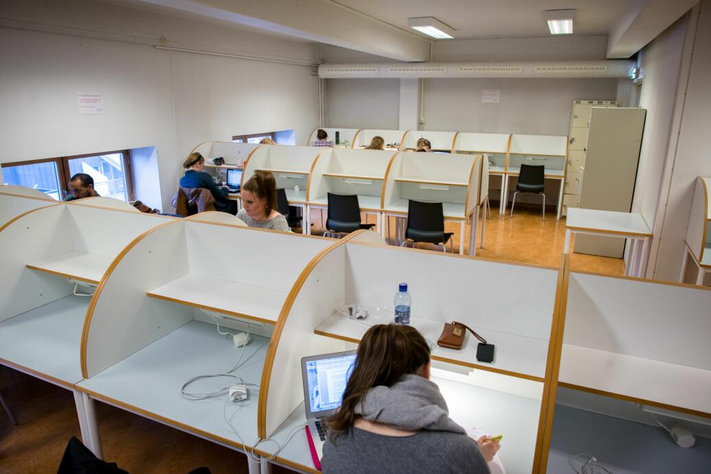 Universitetslektor Nanna Hauksdottir viser til Kvalifikasjonsrammeverket, der kvalifikasjoner beskrives gjennom læringsutbytte og ikke gjennom innsatsfaktorer. Illustrasjonsfoto: Skjalg Bøhmer Vold
