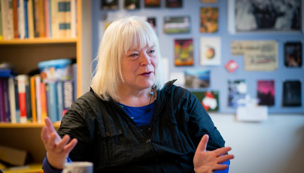 Hilde Harnæs, instituttleder på OsloMet. Foto: Skjalg Bøhmer Vold