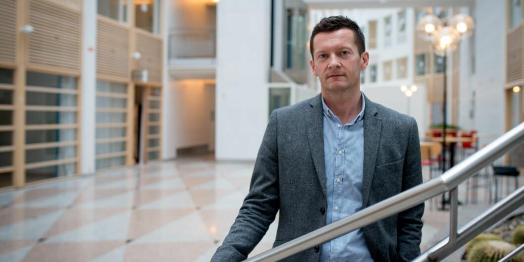 Terje Mørland trekker fram at kvalifikasjon passet for flyktninger de har utviklet har stort potensiale. Foto: Skjalg Bøhmer Vold