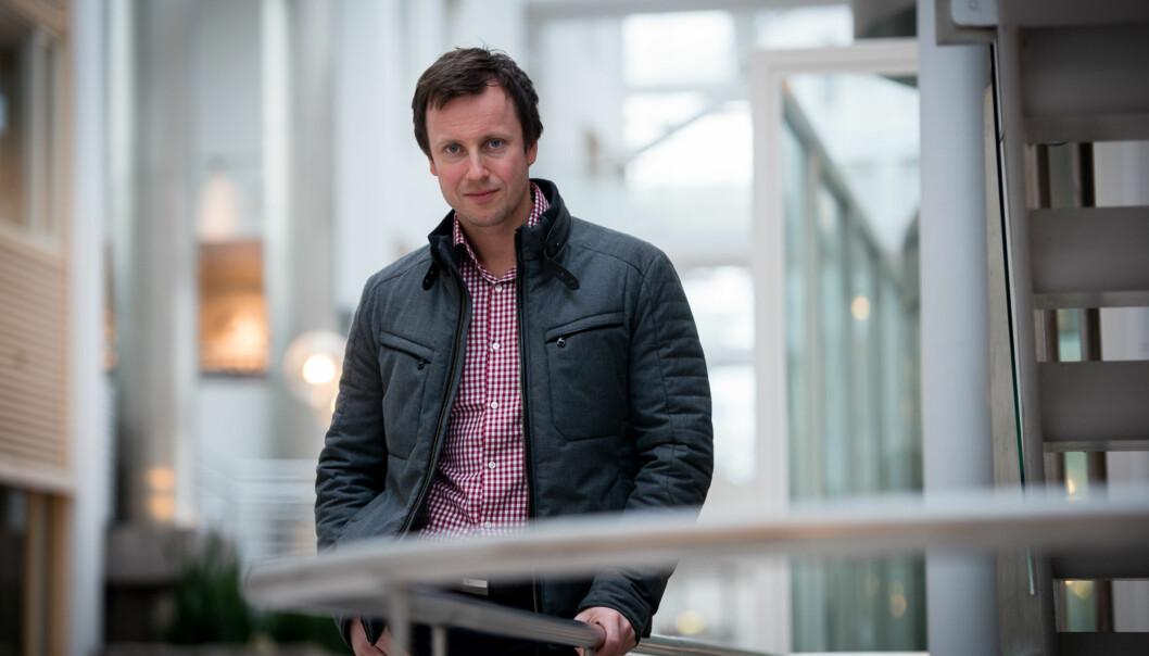 Gard Realf Sandaker-Nielsen i NOKUT er en av 21 søkere til jobben som kommunikasjonssjef i Kunnskapsdepartementet. Foto: Skjalg Bøhmer Vold