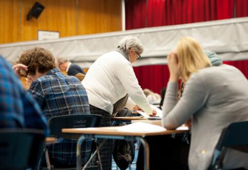 Vil vurderes uavhengig av medstudenter
