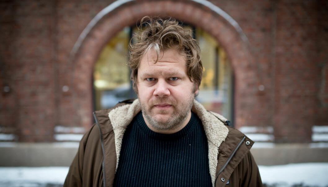 Anders Schjelderup Lyng er nylig gjenvalgt som leder i NTL på Høgskolen i Oslo og Akershus og skal nå arbeide for boikott avIsrael. Foto: Skjalg Bøhmer Vold