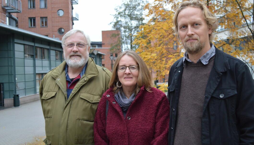 Lars Gule, Anne Birgitta Nilsen og Geir Heierstad har søkt om å få jobben med å danne et senter for forskning på høyrekstremisme med forankring på Høgskolen i Oslo ogAkershus.