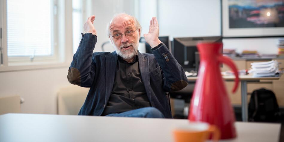 Rektor på Universitetet i Sørøst-Norge, Petter Aasen, ligger an til fire nye år som rektor. Foto: Skjalg Bøhmer Vold