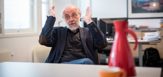 HSN-rektor Petter Aasen. Foto: Skjalg Bøhmer Vold