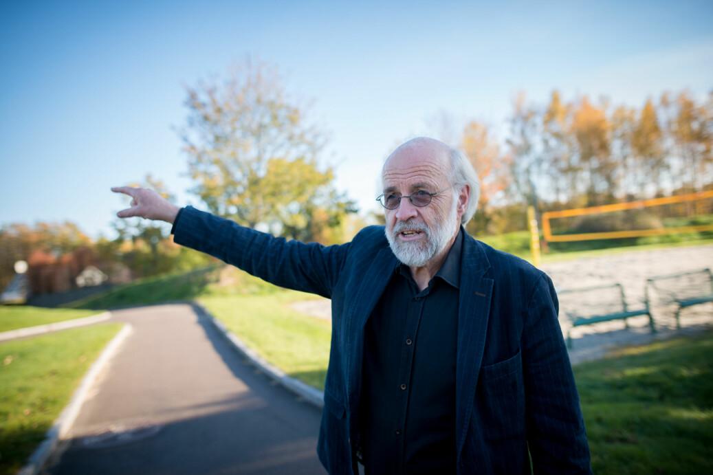 Petter Aasen, rektor ved Høgskolen i Sørøst-Norge har ikke funnet holdepunkter som tilsier at Oslofjord Convention Center driver med sosial dumping. Foto: Skjalg Bøhmer Vold
