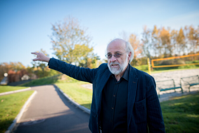 Rektor Petter Aasen mener debatt om ledelsesmodell på HSN er uaktuelt. Foto: Skjalg Bøhmer Vold