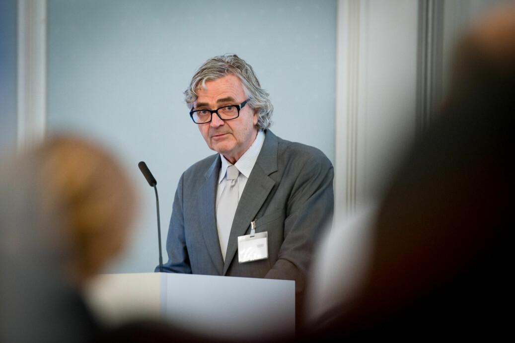 Petter Aaslestad, leder i Forskerforbundet er bekymret for om foretaksmodellen virkelig kan bety mer frihet. Foto: Skjalg Bøhmer Vold