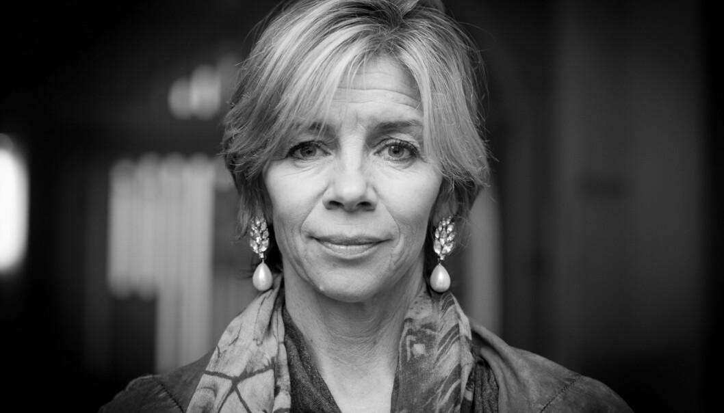 Nina Waaler til friminutt Foto: Skjalg Bøhmer Vold