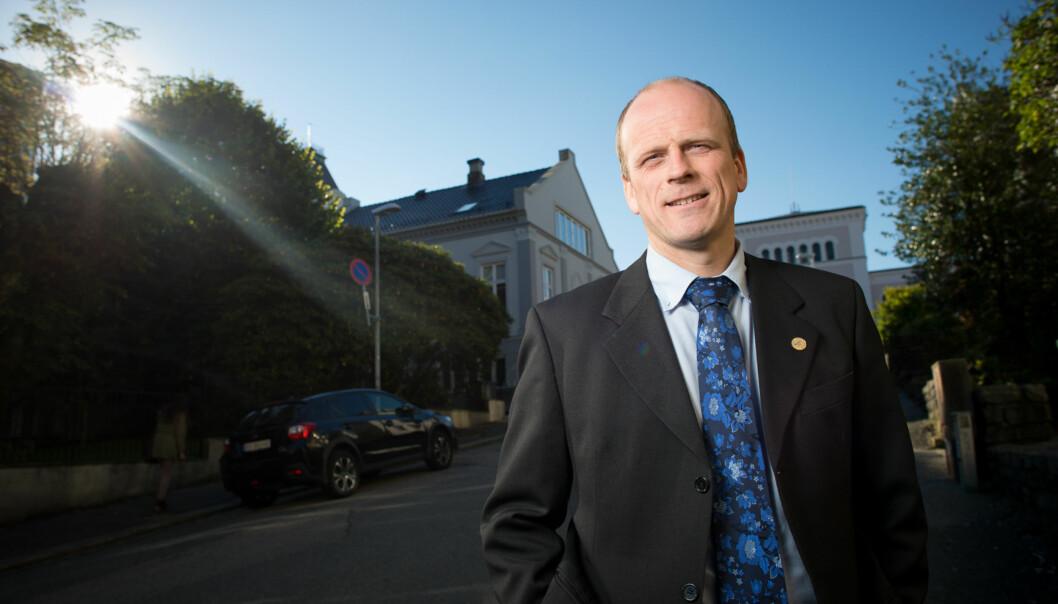 På Høyden-redaktør Dag Hellesund er ein av søkarane til kommunikasjonsdirektør ved Universitetet iBergen. Foto: Skjalg Bøhmer Vold
