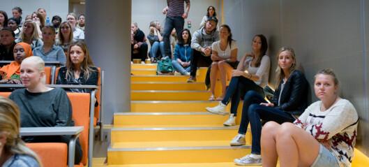 Det møtte opp 4490 flere studenter enn det var plass til
