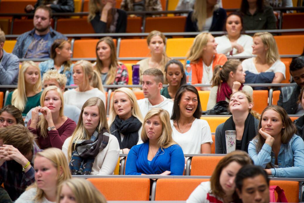 Studentene fortjener bedre, skriver Heggernes og Sandhaug. Illustrasjonsfoto: Skjalg Bøhmer Vold