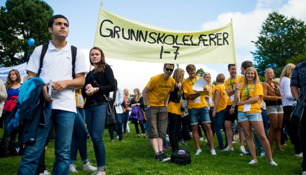 Professor Karl Øyvind Jordell mener SV må dele ansvaret for dagens lærermangel med regjeringen Solbergs største parti, Høyre. Foto: Skjalg Bøhmer Vold