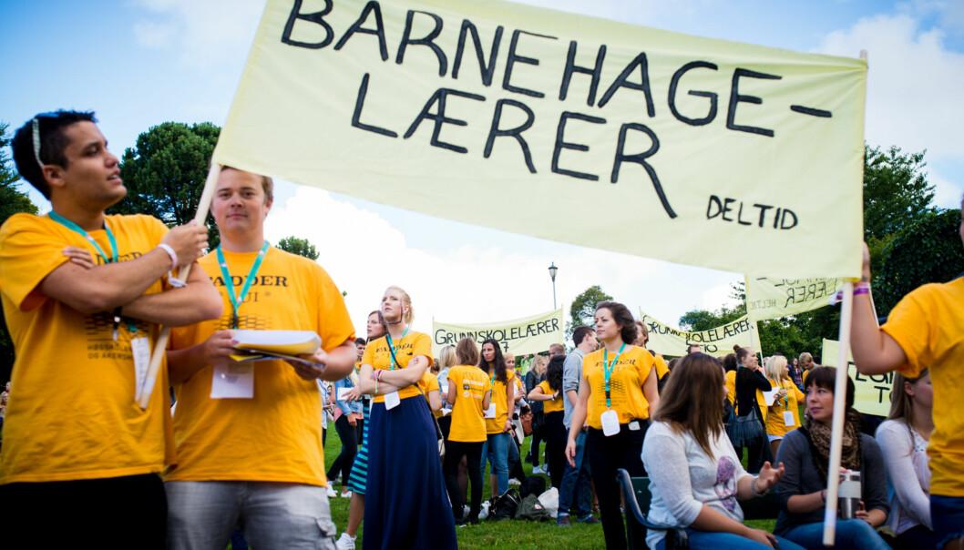 Studenter som stryker i praksis får mer trøbbel enn de burde, mener Volda-studenten. Foto: Skjalg Bøhmer Vold