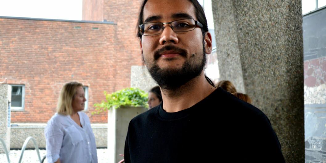 Rune Keisuke Kosaka er en av tre som vil lede Studentparlamentet ved Høgskolen i Oslo og Akershus det nesteåret.