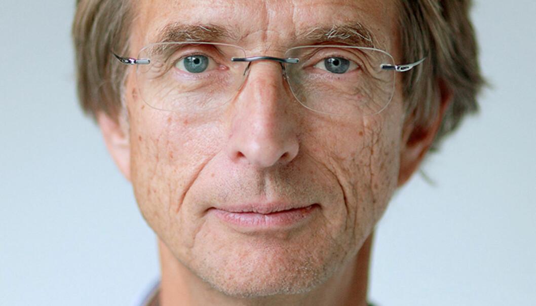 Hans Blom er rektor ved Høgskolen i Østfold Foto: Foto: Bård Halvorsen