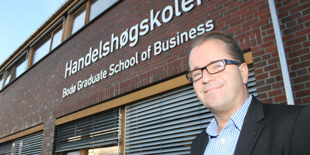 Nåværende dekan ved Handelshøgskolen på Universitetet i Nordland, Bjørn Olsen, er tilsatt som ny rektor ved det nyfusjonerte universitetet i Midt-Norge. Foto: Per Jarle Elle,UiN