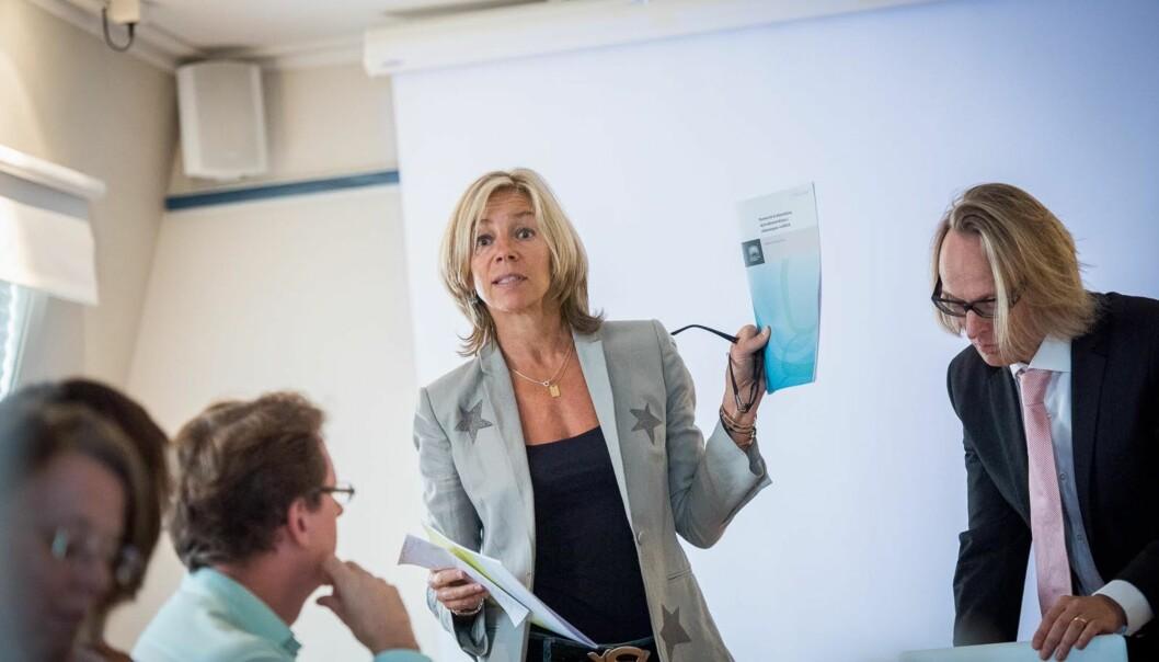Prorektor for utdanning ved HiOA, Nina Waaler, er en av dem som skal være med i arbeidsgruppen mellom UiO ogHiOA.