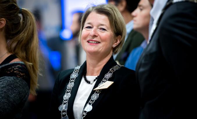 Rektor på UiT, Anne Husebekk. Foto: Skjalg Bøhmer Vold