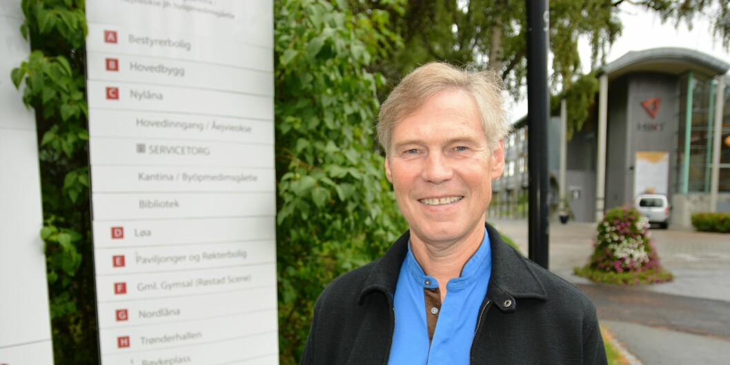 Rektor Steinar Nebb ved Høgskolen i Nord-Trøndelag ber styret sitt om råd i de videre fusjonsforhandlingene med Universitetet i Nordland. Foto:HiNT