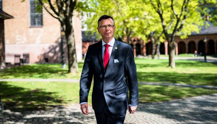 Rektor på Universitetet i Bergen Dag Rune Olsen. Foto: Skjalg Bøhmer Vold