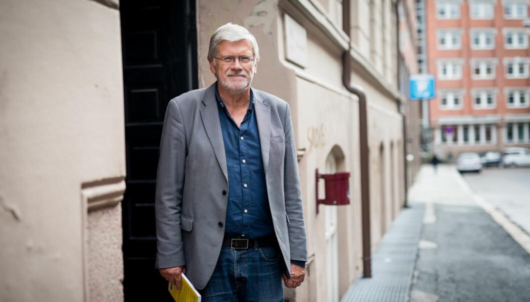 Professor Anders Breidlid og kollegene hans protesterte mot måten stipendiater ble fordelt ved Høgskolen i Oslo og Akershus. Nå har han blitthørt. Foto: Skjalg Bøhmer Vold