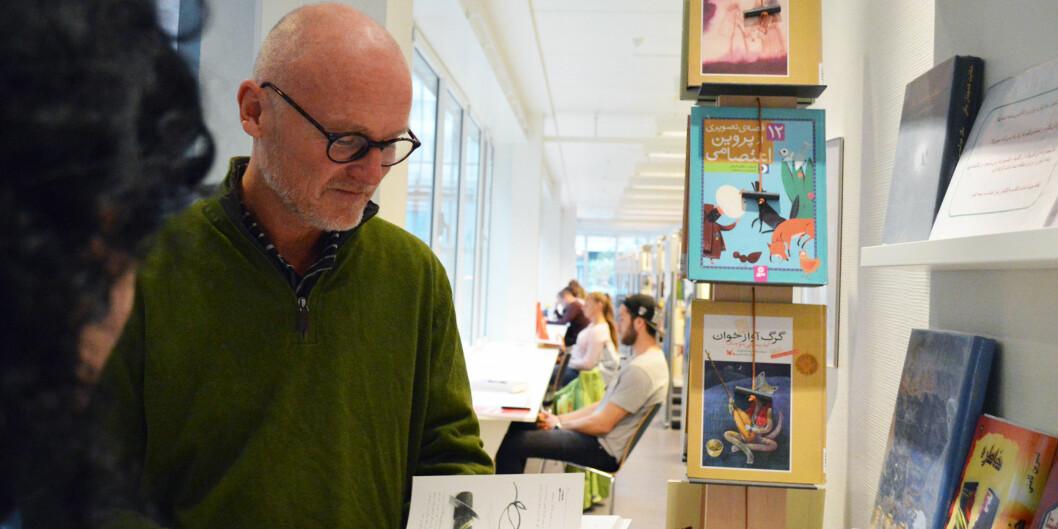 Direktør på OsloMet, Lars Egeland, er bekymret for at prosessen rundt å få alle vitenskapelige artikler lagt åpen ut går for sakte.
