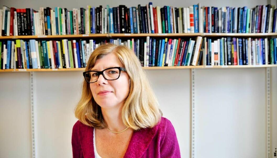 Medieprofessor Tanja Storsul fra Universitetet i Oslo er en av søkerne til dekan- og topplederstillingen ved Fakultet for samfunnsfag ved HiOA. Foto: Lene Svenning,FriFagbevegelse