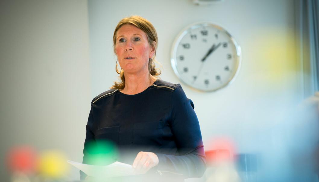 Studiedirektør Marianne Brattland ved Høgskolen i Oslo og Akershus skulle gjerne hatt flere søkere tilmasterprogrammene. Foto: Skjalg Bøhmer Vold