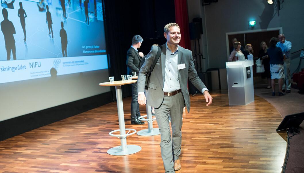 Sveinung Skule (på bildet) er direktør i NIFU.  Foto: Skjalg Bøhmer Vold