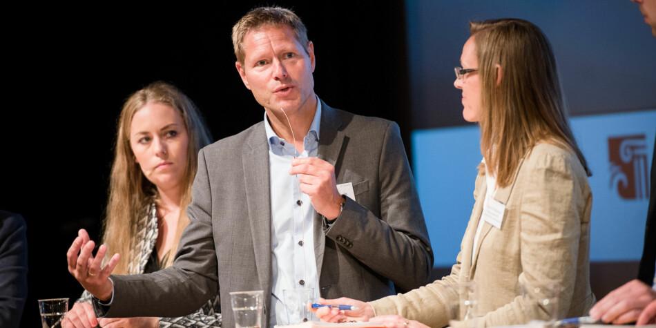 Sveinung Skule sluttar i jobben som administrerande direktør i Nordisk institutt for studier av innovasjon, forsking og utdanning (NIFU). Foto: Skjalg Bøhmer Vold
