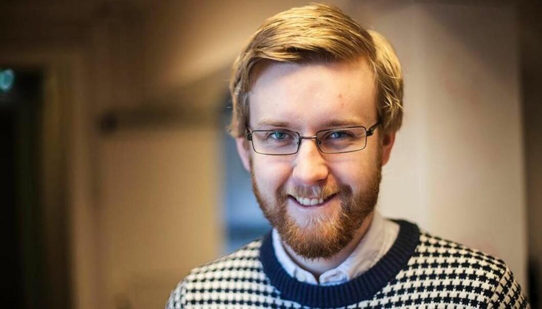 Styreleder Knut Jørgen Vie i Studentsamskipnaden (SiT). Foto: Kristoffer Furberg/UA