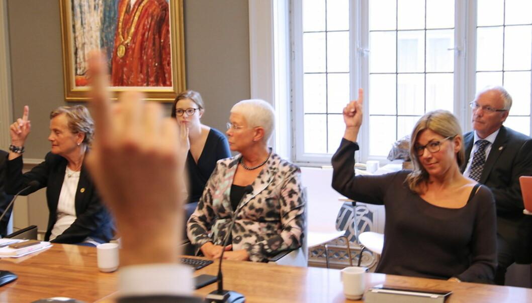 Et mindretall i styret ved Unviersitetet i Bergen ønsker tilsatt rektor og ekstern styreleder som hovedmodell iakademia. Foto: Hilde Kristin Strand