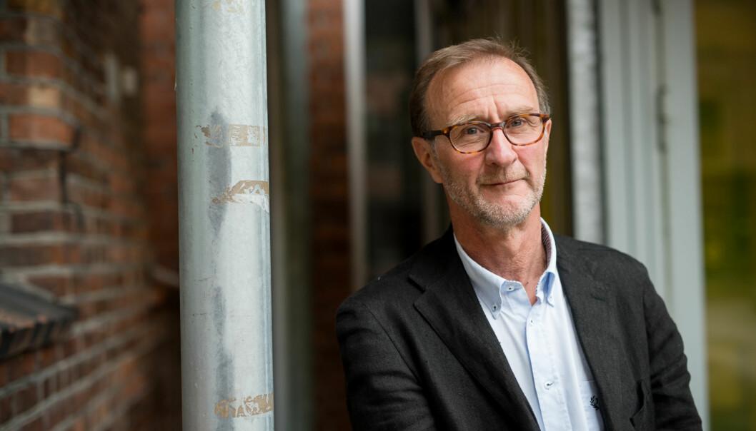 Dekan Knut Patrick Hanevik er fornøyd med signalene fra UiO-rektor Ole Petter Ottersen om at universitetet ønsker et tettere samarbeid med Høgskolen i Oslo ogAkershus. Foto: Skjalg Bøhmer Vold