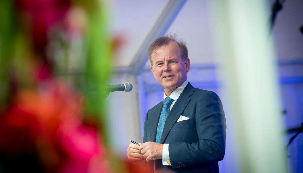 Ole Petter Ottersen trekker fram bruken av rangeringer for å bestemme hvilke studiesteder som skal gi tilleggsstipend som misbruk av disserangeringene. Foto: Skjalg Bøhmer Vold