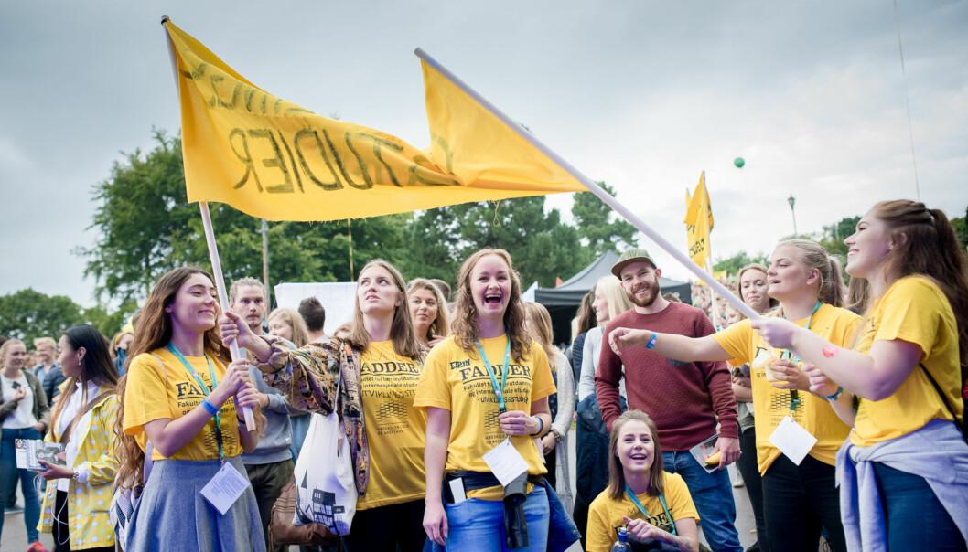 7000 nye studenter ble ønsket velkommen til Høgskolen i Oslo og Akershus idag. Foto: Skjalg Bøhmer Vold