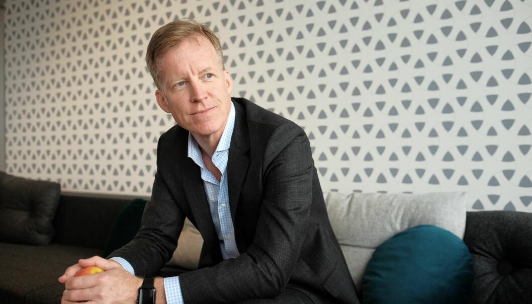 Rektor på Høgskolen i Oslo og Akershus, Curt Rice. Foto: Ketil Blom Haugstulen