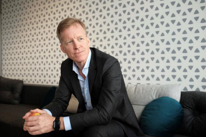 Curt Rice, rektor på OsloMet. Foto: Ketil Blom Haugstulen