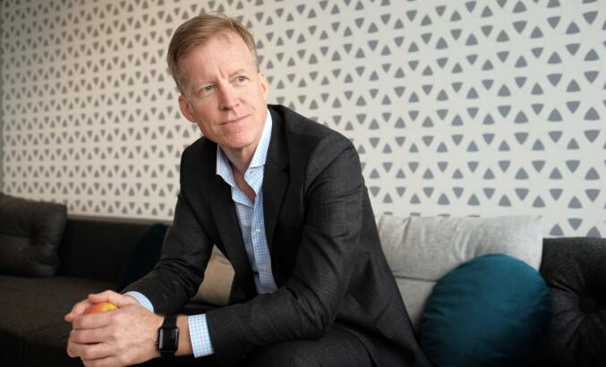 Rektor Curt Rice ved Høgskolen i Oslo og Akershus. Foto: Skjalg Bøhmer Vold